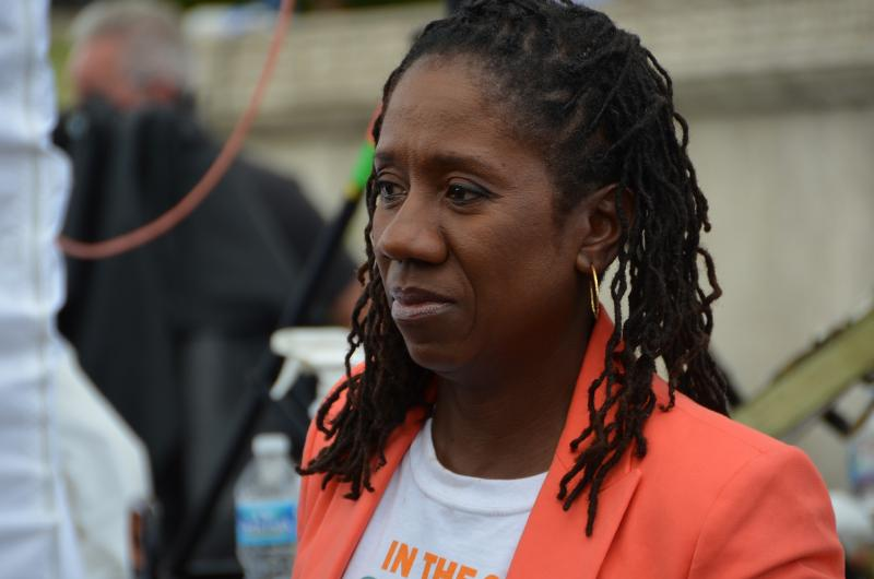 Sherrilyn Ifill participates in the 50th anniversary of the March on Washington in 2013.