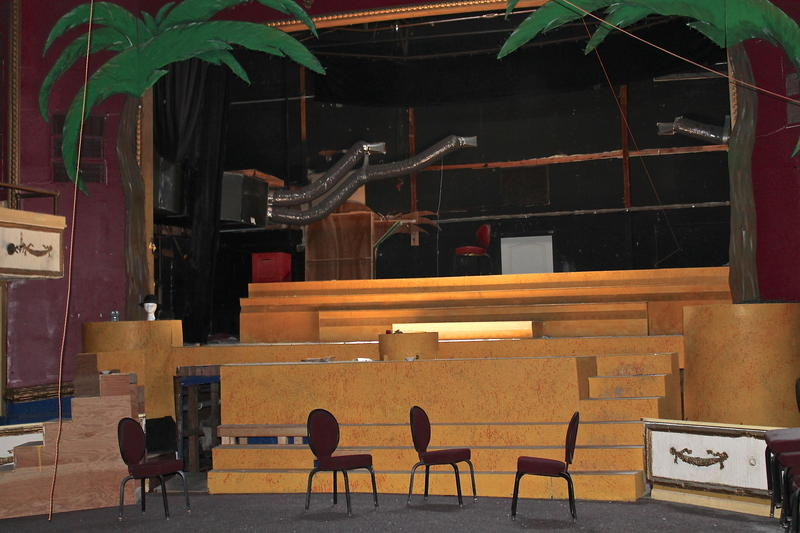 "The stage is set for ""Joseph and the Technicolor Dreamcoat,"" the last play to be performed in the theater."