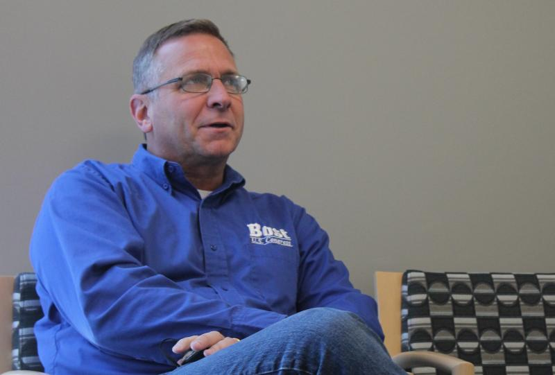 State Rep. Mike Bost, R-Murphysboro, appears on St. Louis on the Air on Thursday.