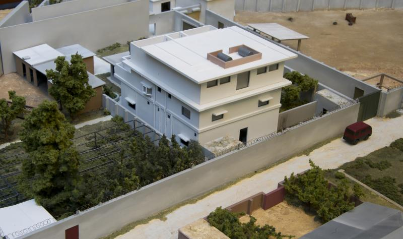 One of the models of Osama bin Laden's compound in Pakistan is housed in the NGA's museum in St. Louis.