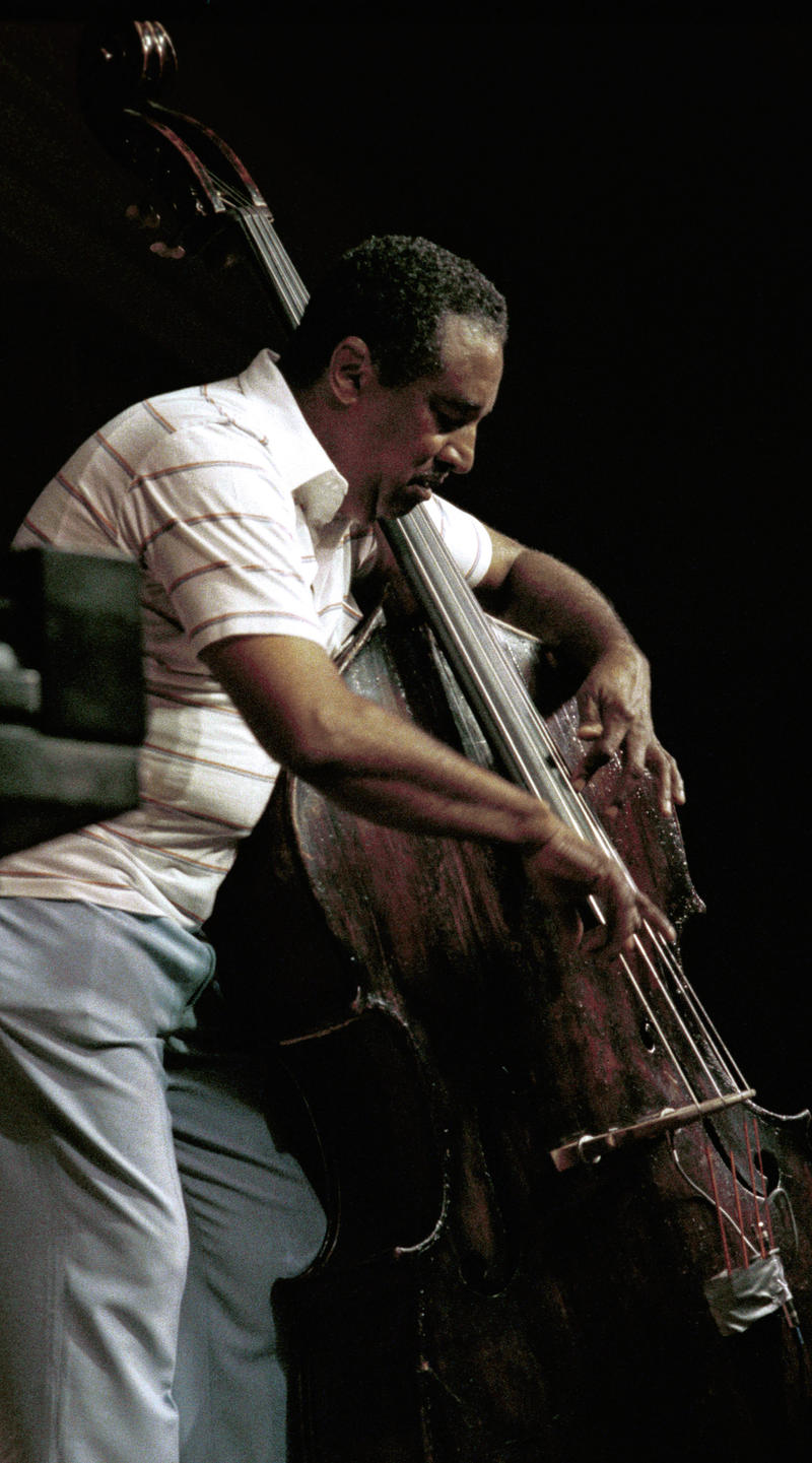 Ray Brown played and recorded with Dizzy Gillespie from 1945 to 1980.