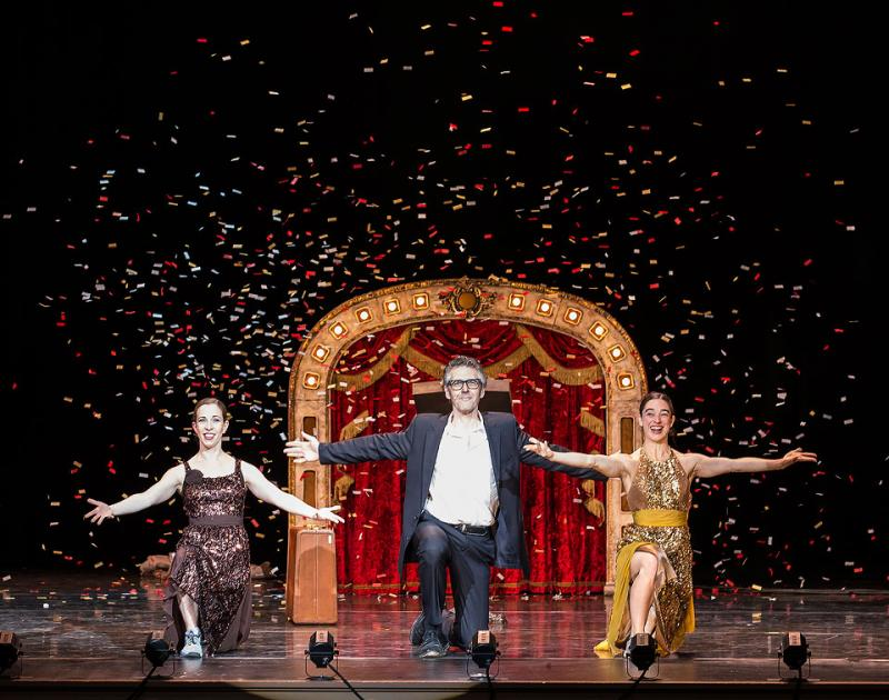 'This American Life' host Ira Glass and dancers Monica Bill Barnes and Anna Bass team up for a stage performance Nov. 1-2 at the Edison Theater in St. Louis.