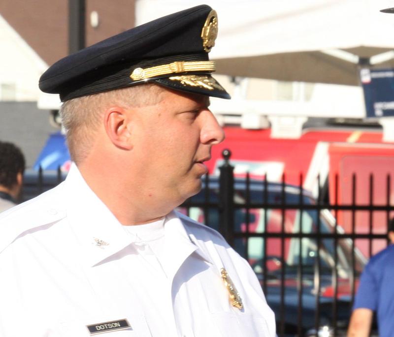 August 2014 St. Louis Metropolitan Police Chief Sam Dotson