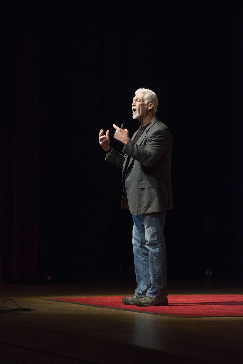 Joe Ehrmann speaks at TEDxBaltimore on Jan. 25, 2013.