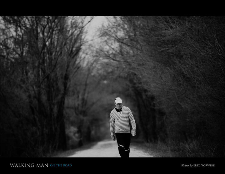 'Walking Man' debuted on Nov. 17, 2014, as part of the St. Louis International Film Festival.