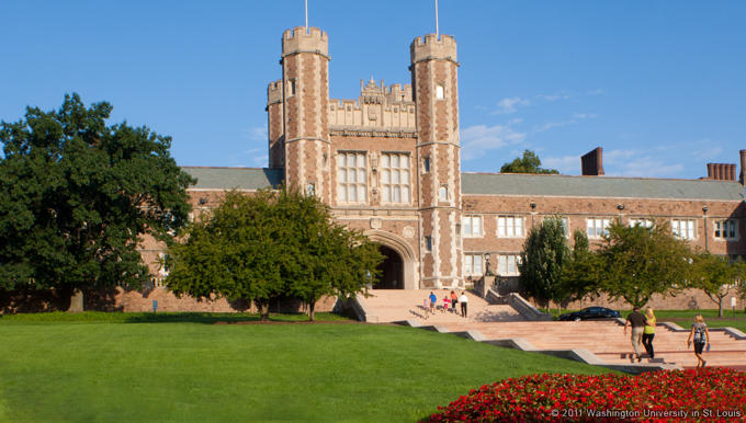 Washington University's Brookings Hall