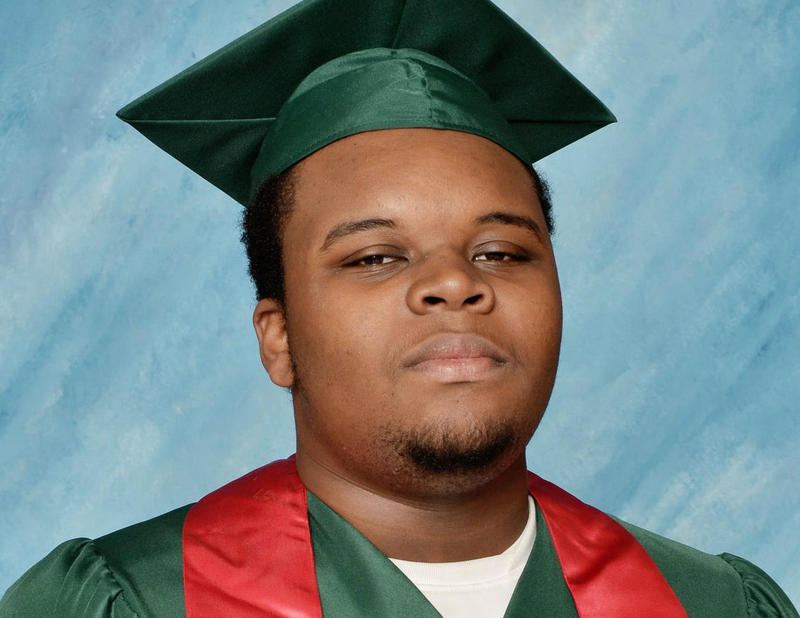 Michael Brown's Normandy High School graduation photo