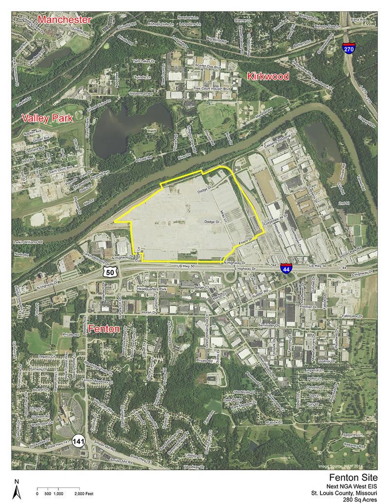 former Chrysler plant in Mehlville including 222 acres