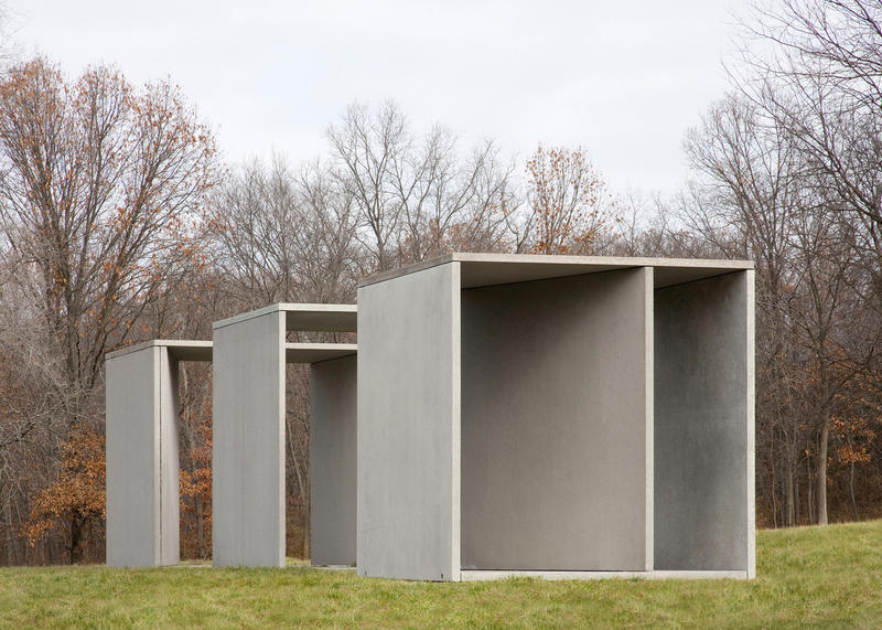 Donald Judd's Untitled, 1984 recently underwent a three stage conservation process to keep presentation in line with the artist's wishes.