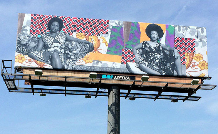 A Moment's Pleasure by Mickalene Thomas