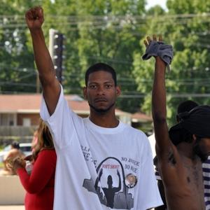 One of the dozens of images Joel Levy submitted to the Documenting Ferguson project