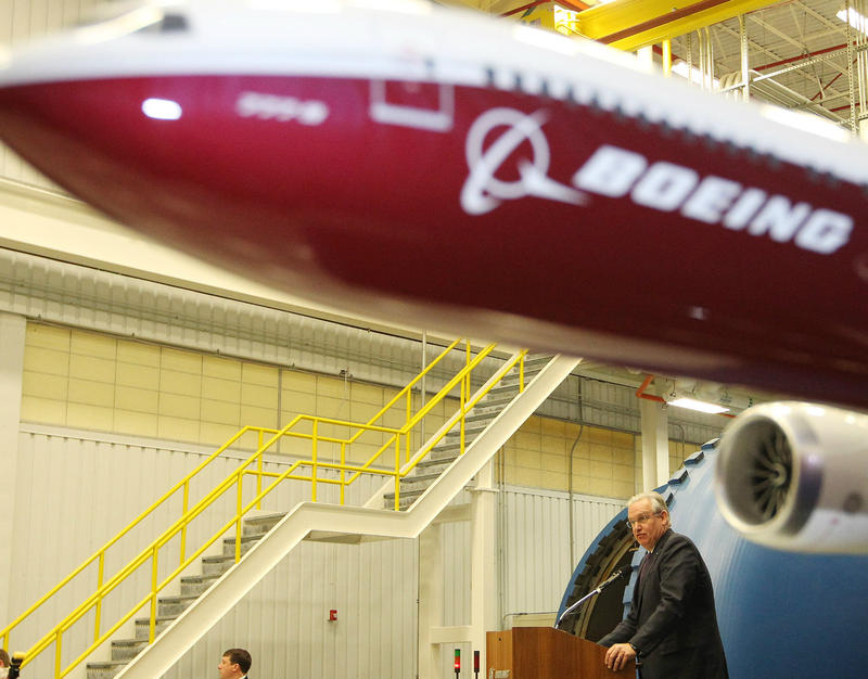 The 777X commercial aircraft manufacturing plant will benefit from state tax incentives.