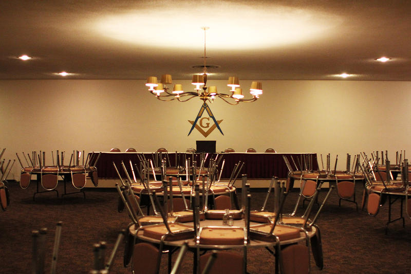 Third floor dining room in New Masonic Temple
