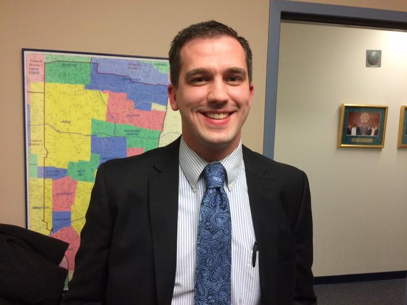 Eric Fey, the Democratic director for the St. Louis County Board of Elections.