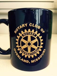 Rotary Club of Overland mug
