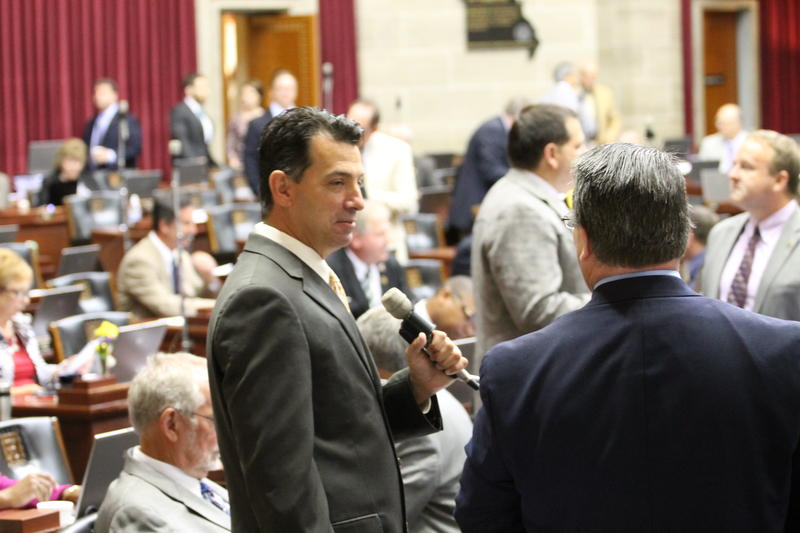 Rep. Keith English of Florissant left the Democratic Party on Tuesday and announced he will serve as an independent.