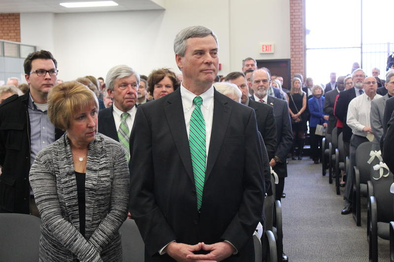 St. Louis County Prosecutor Bob McCulloch was sworn in for his latest four-year term. He's been in the office since 1991.