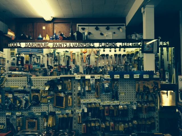 Inside New Market Hardware in the Central West End.