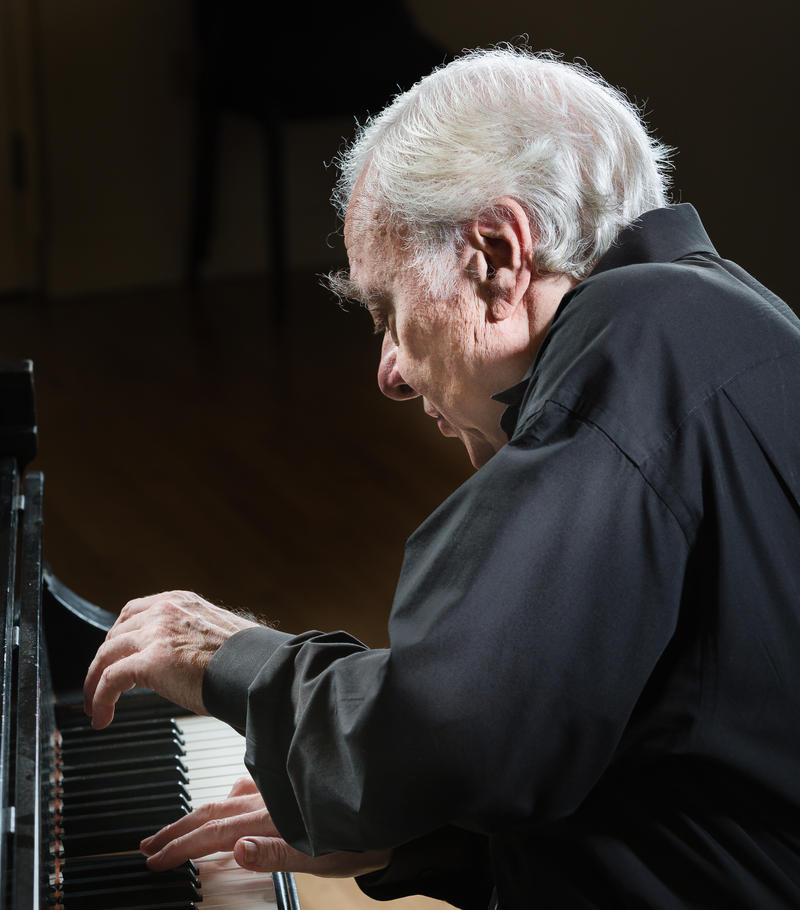 Pianist Richard Goode.
