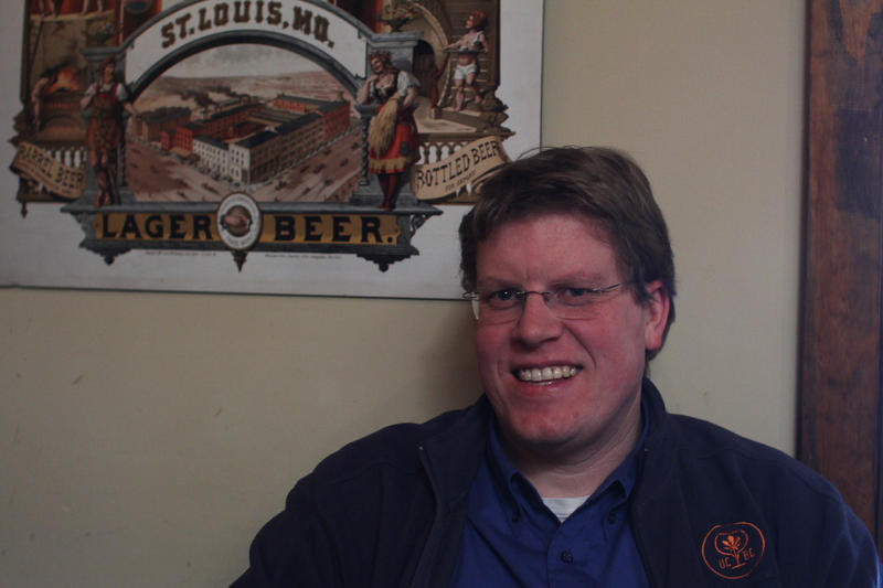 Urban Chestnut Brewmaster and co-founder Florian Kuplent, 40.