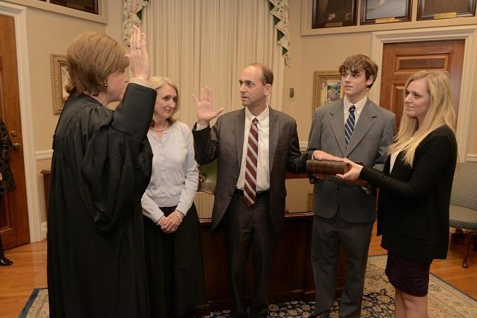 Tom Schweich is sworn in for his second term as state auditor in January.