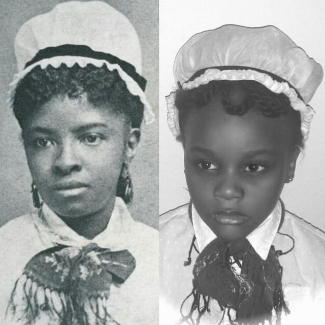 Ava channels Mary Eliza Mahoney , the country's first black professional nurse.
