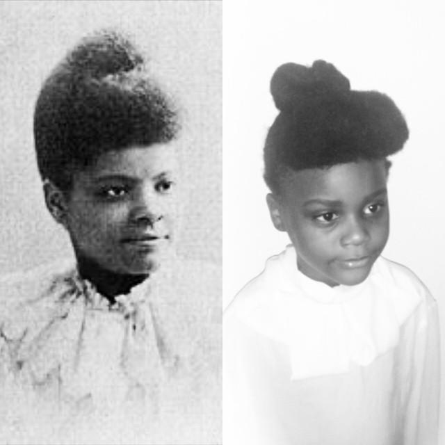 Ava as civil rights leader and journalist Ida B. Wells.