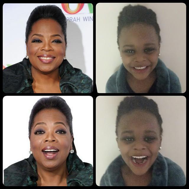 Ava as Oprah Winfrey