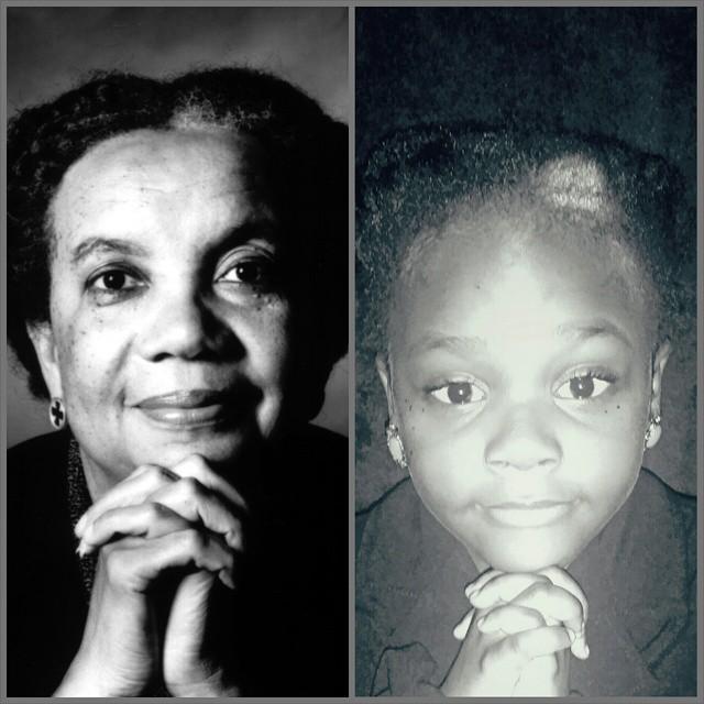 Ava as activist Marian Wright Edelman.