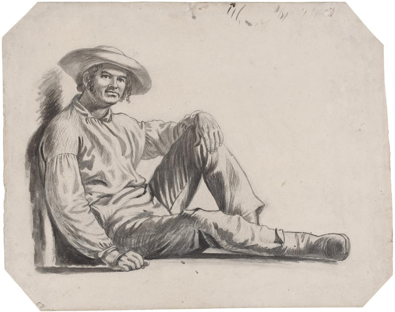 George Caleb Bingham drawing