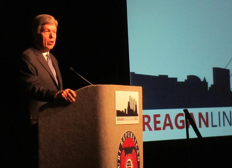 Sen. Roy Blunt at Lincoln Days 2015