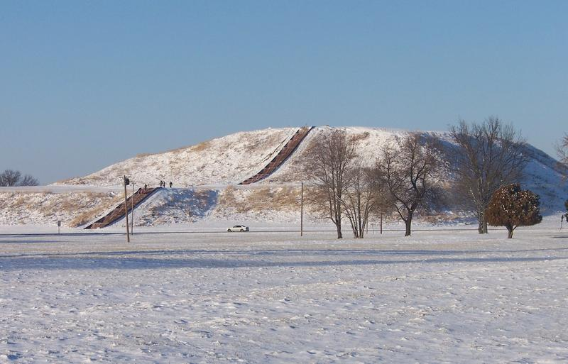 Monks Mound is the largest prehistoric earthen construction in north or south America.