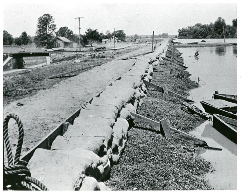 Flood of 1927: The disaster prompted federal legislation for flood control.