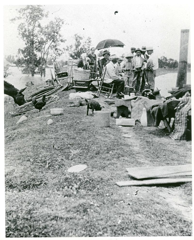Flood of 1927: The majority of the displaced were African-American plantation workers and sharecroppers.