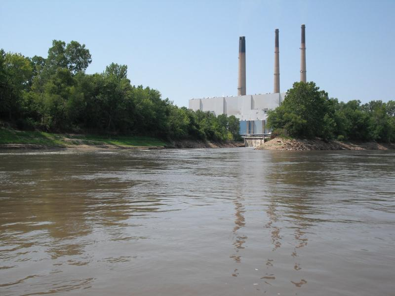 Wastewater from Ameren's coal-fired power plant in Franklin County discharges into the Missouri River.
