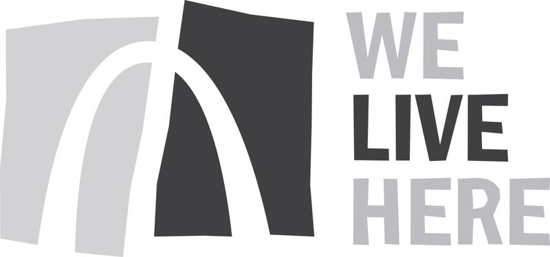 We Live Here logo