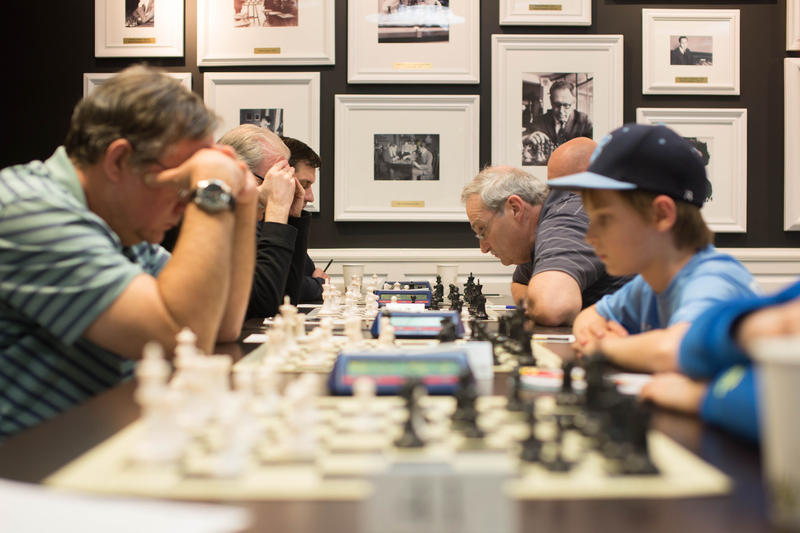 The St. Louis Metro Class Chess Championships pair players with similar rankings.