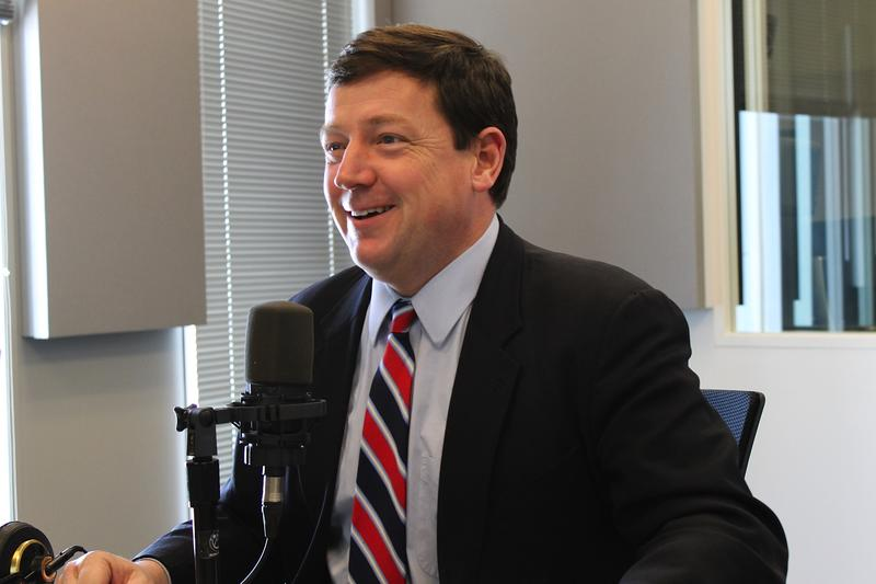 Ed Martin talks about his work as chairman of the Missouri Republican Party, and his new job as president of the Eagle Forum with 'St. Louis on the Air' host Don Marsh  on Feb. 12, 2015, at St. Louis Public Radio in St. Louis.