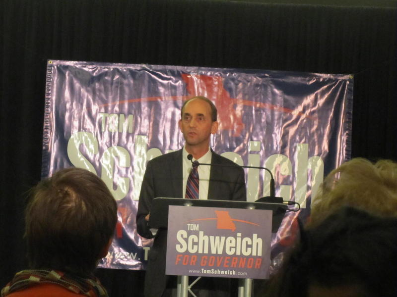 Tom Schweich announces his bid for governor last month (January 2015)