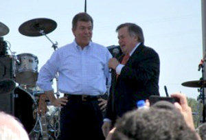 Roy Blunt, left, with Dick Morris 9.12.2010