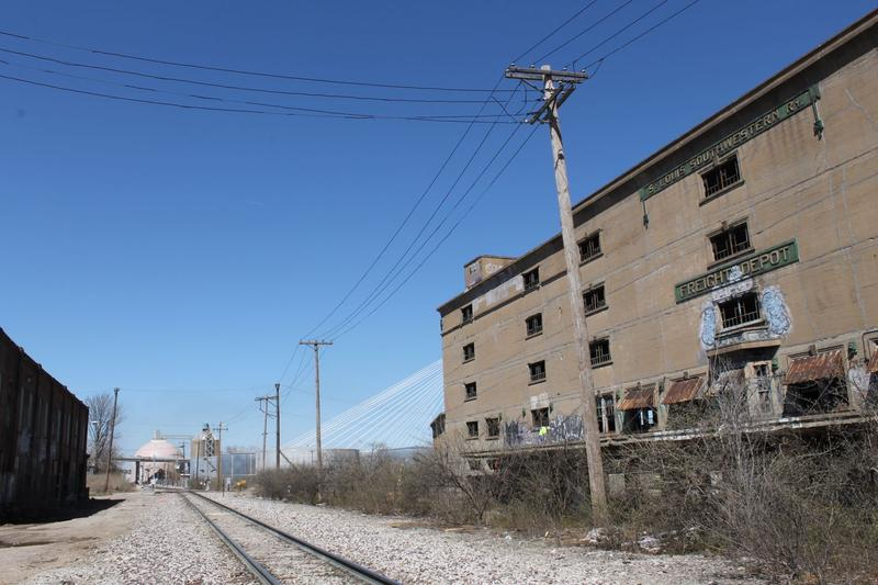 The Cotton Belt Freight Depot was built in 1911 to unload cotton shipped from the South. It would fall within the footprint of the proposed stadium development.