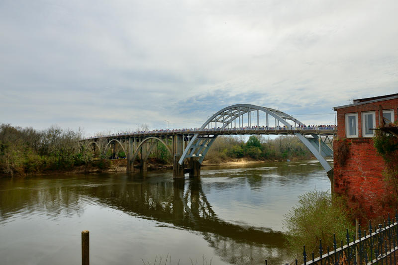 Eleven members of the Vatterott family participated in a march across the Edmund Pettus Bridge in Selma, Ala., on March 7, 2015, the 50th anniversary of Bloody Sunday, a civil rights march that ended when protesters were beaten by police.