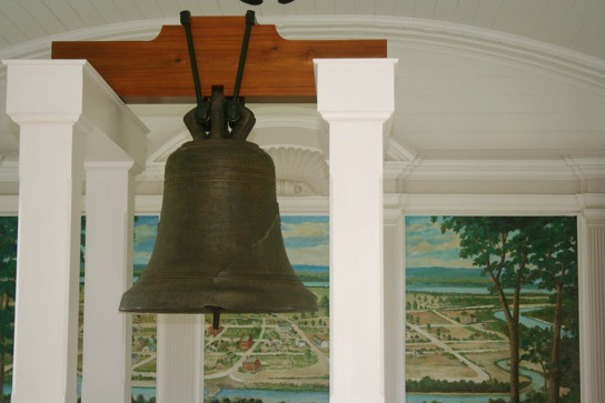 Liberty Bell of the West on Kaskaskia Island
