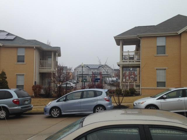 Apartments in the Renaissance Place neighborhood in North St. Louis, which includes subsidized and market-rate housing.