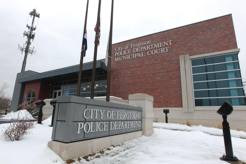 Ferguson police headquarters on March 3, 2015