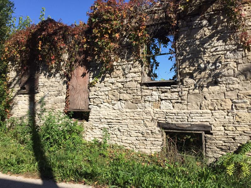 The ruin of the Becker Anthes house has presented a challenge that would-be restorationists have not yet met