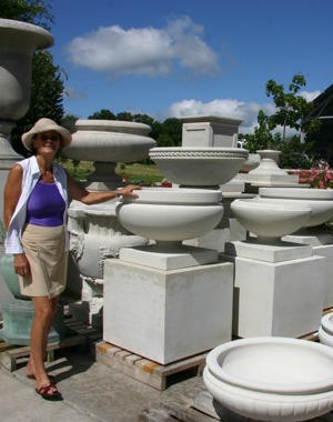 Charlotte Ward among the planters
