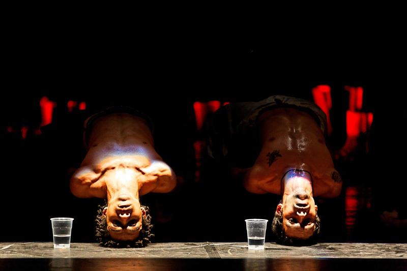 Brazilian dance troupe Compagnie Käfig