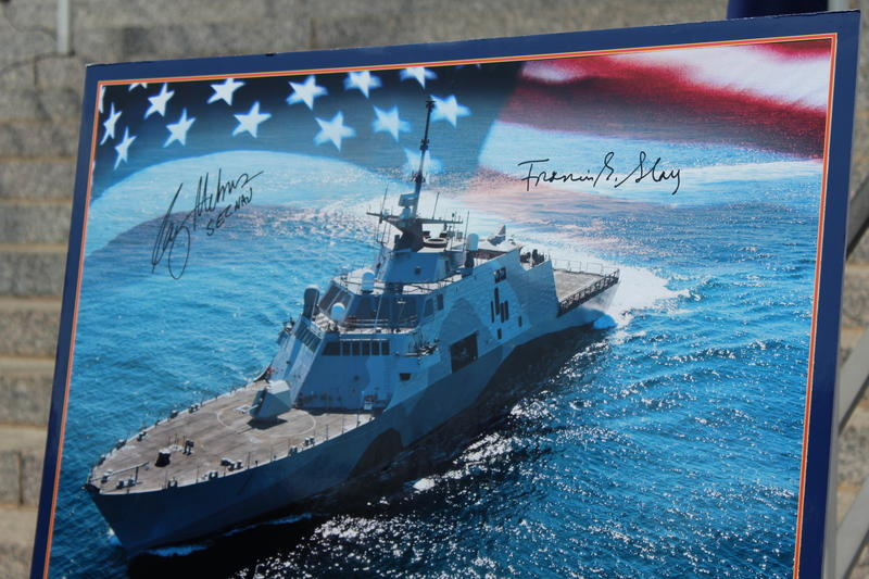 Signed image of the USS St. Louis