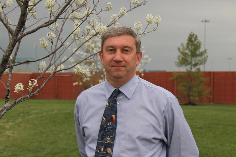 Tom McCarthy oversees all parks operations for the City of Chesterfield.
